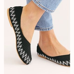 Free People woven flats